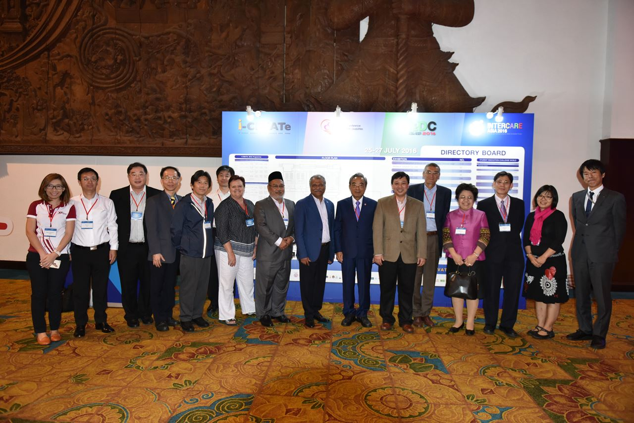 CREATe Asia committees taken a picture together