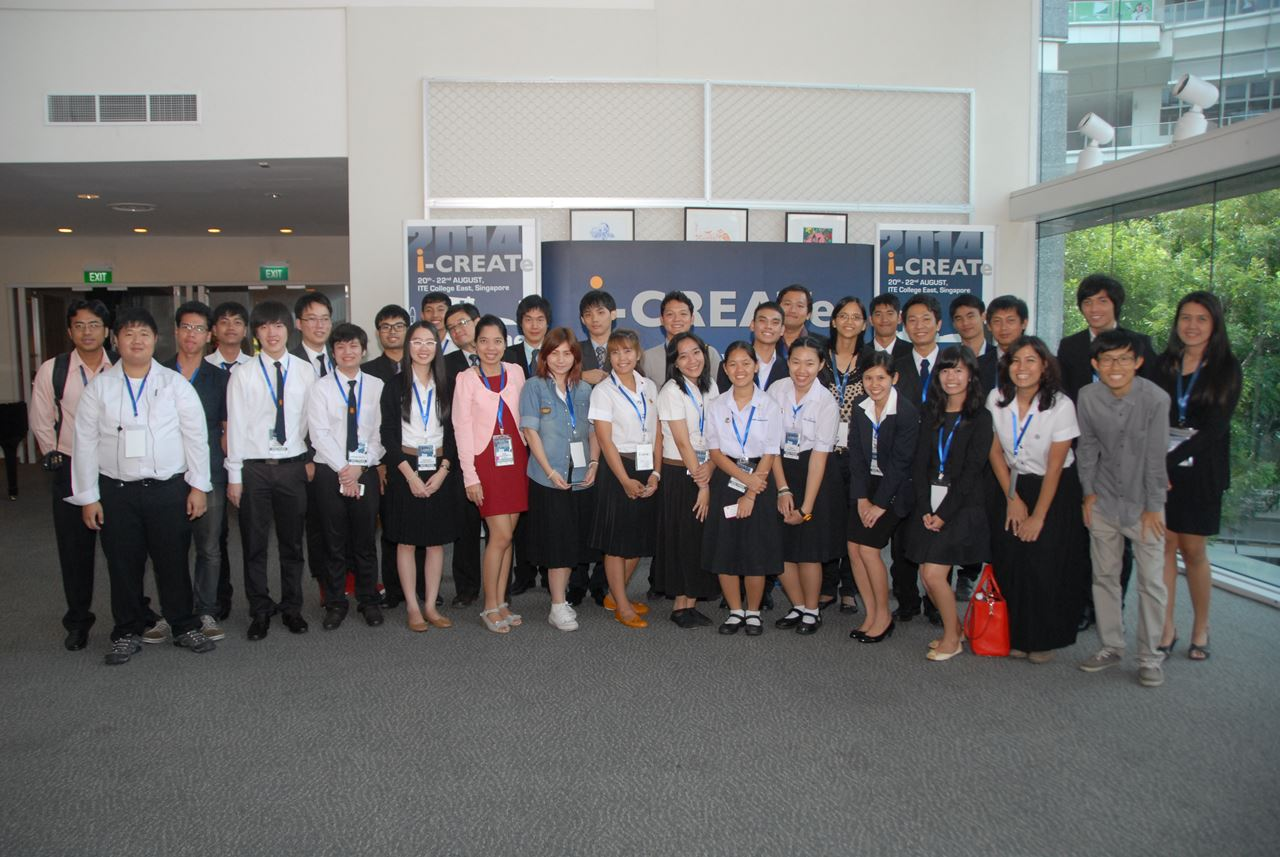 gSIC participants in i-CREATe 2015